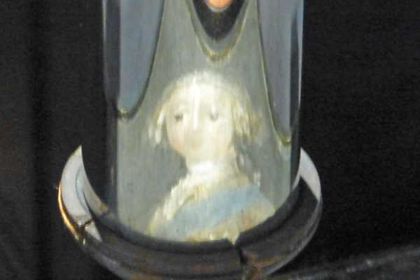 A secret portrait of Bonnie Prince Charlie - detail