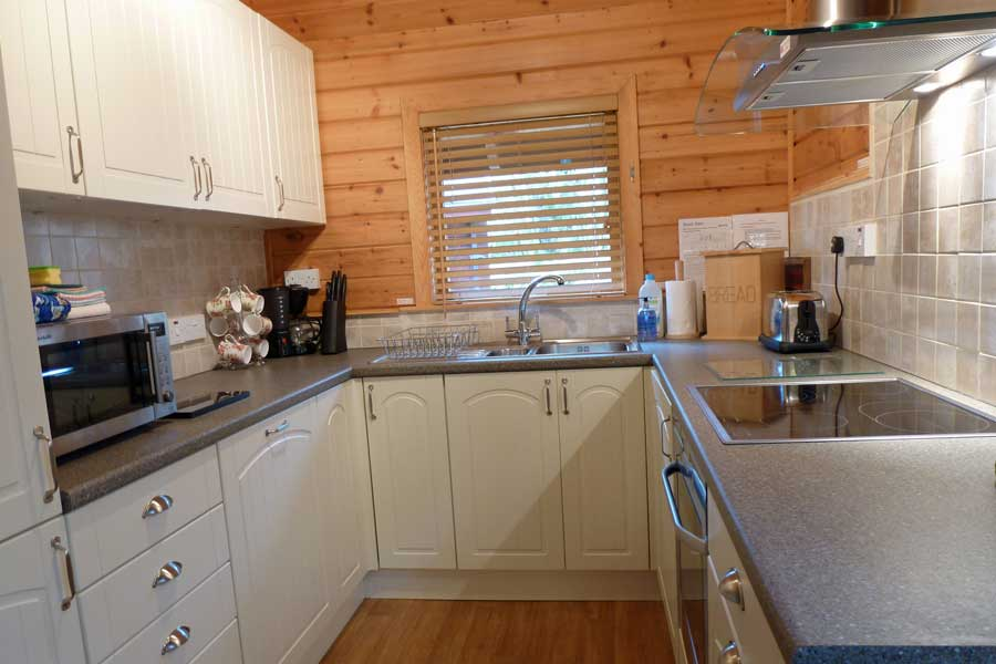 Mingarry Lodges have well equiped kitchens