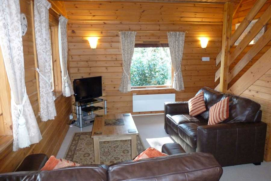 Sitting room in Hooting Lodge