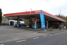 Esso garage in Fort William