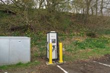 Electric Vehicle Rapid Charger at Drumnadrochit
