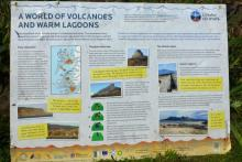 A World of Volcanoes and Warm Lagoons