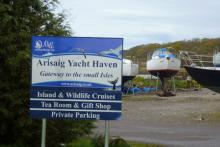 The Entrance to Arisaig Marine