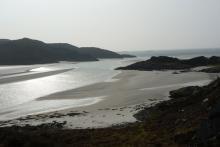 Bourblach beach - The Silvery Sands of Morar