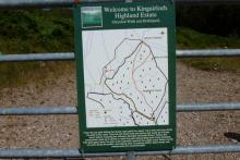 The Ghardail Walk is on the Kingairloch Estate