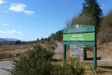 Glen Loy Forestry Commission car park