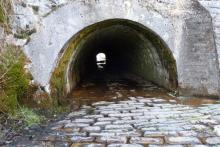 Pedestrian tunnel under the Caledonian Canal- Glen Loy Aqueduct