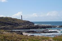 The rocks at Ardnamurchan Point