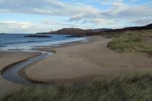 The beach at Cul na Croise