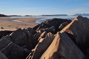 Camusdarach beach near Ceithir Raithean