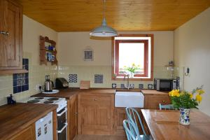The kitchen in Lochaber Cottage