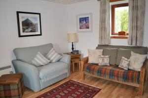 The sitting room in Lochaber Cottage