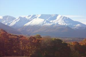 Mountain views from Lochaber Cottage