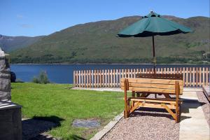 The Cottage, Fort William - BBQ Area