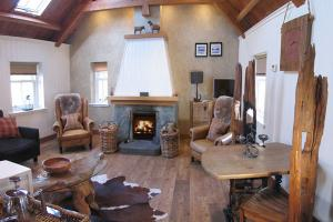The Old Byre - Living room