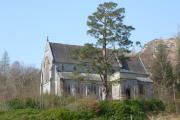 Glenfinnan Church seen from the Glenfinnan Station and Viaduct Walk