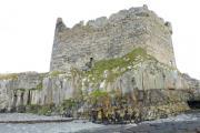 Mingary Castle on rocky promontory