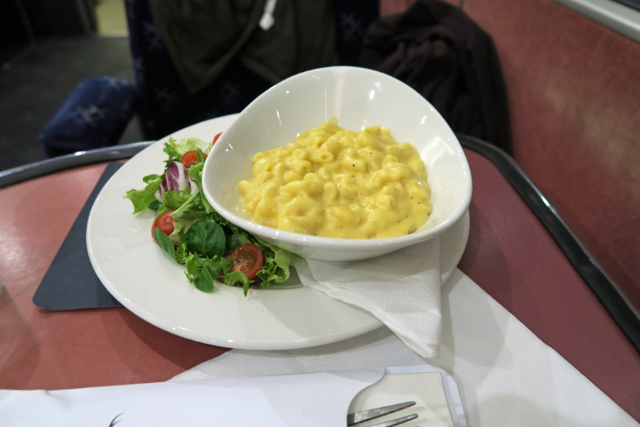 The Caledonian Sleeper - macaroni cheese