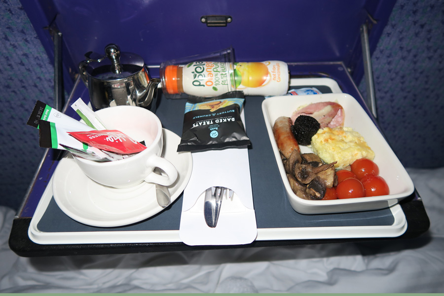 The Caledonian Sleeper  - The Highland breakfast
