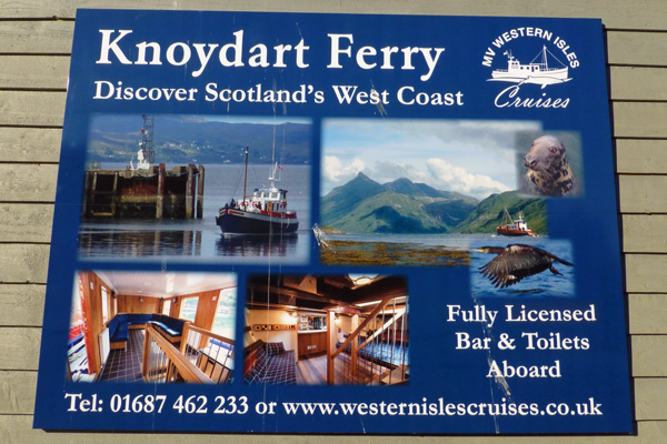Knoydart Ferry and MV Western Isles Sea Cruises
