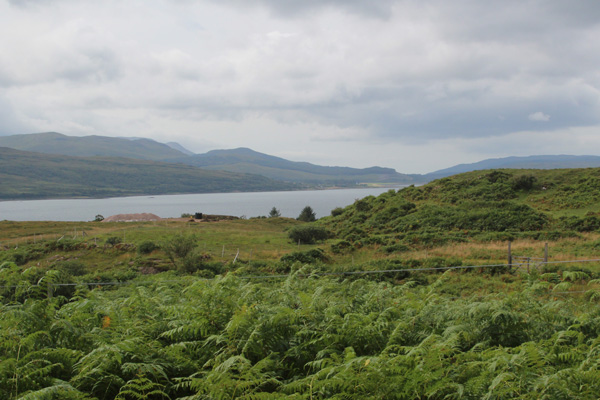 Fine view across the Sound of Mull