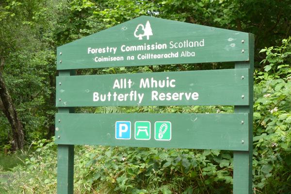 Allt Mhuic Butterfly Reserve - Loch Arkaig