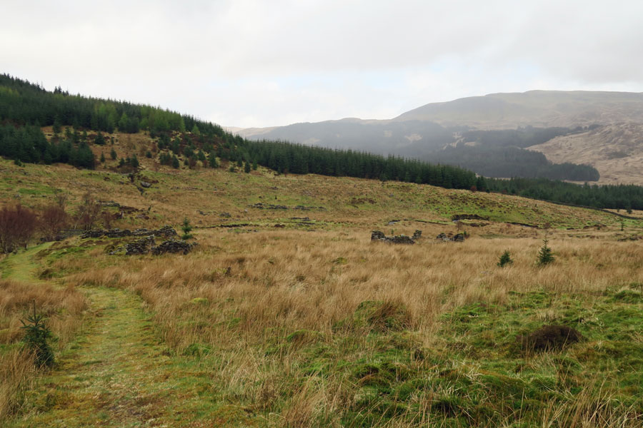 Aoineadh Mor the deserted village