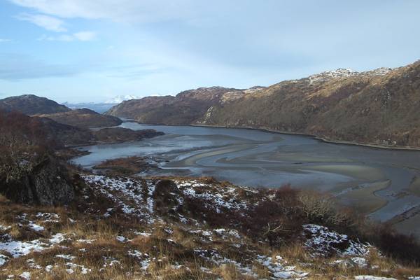 Loch Moidart from the Ardmolich walk