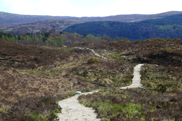 The path from Ardnastaing to Strontian