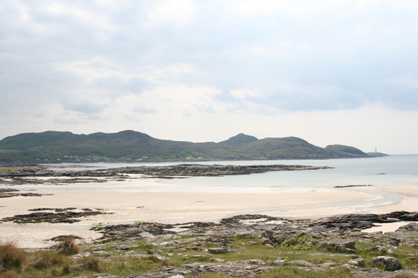 The Silvery sands of Bay MacNeil