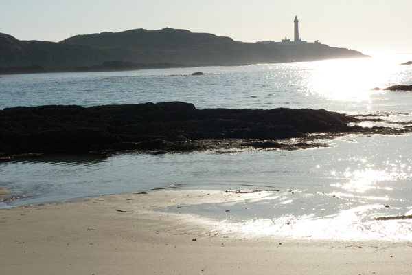 Ardnamurchan lighthouse from Bay MacNeil