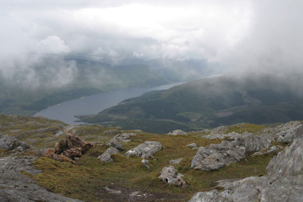 Loch Shiel from Ben Resipole