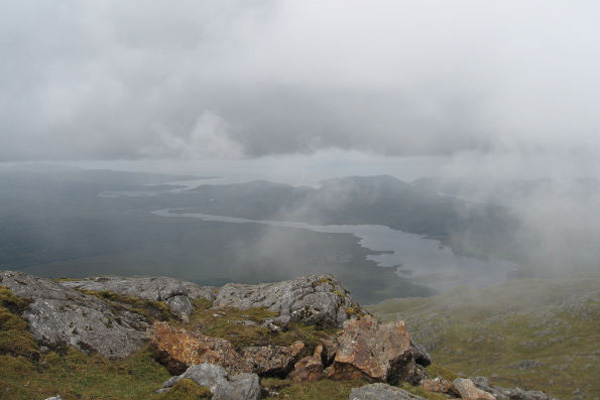 River Shiel from Ben Resipole