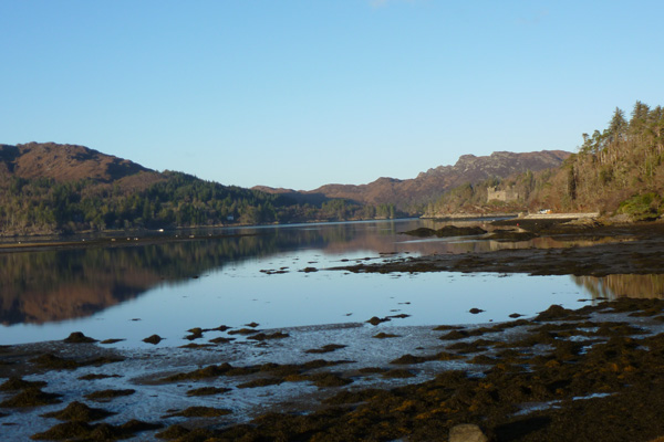 Castle Tioram and Loch Moidart