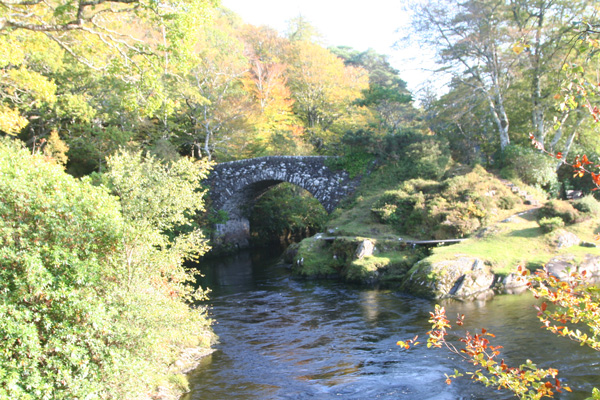 Old Shielbridge on the River Shiel