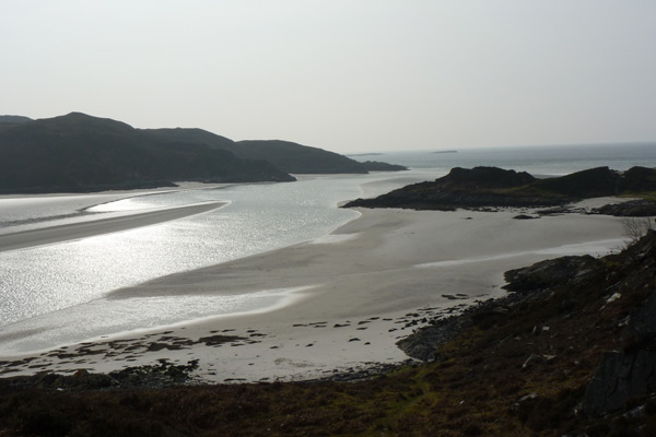 Bourblach beach - The Silvery Sands of Morar