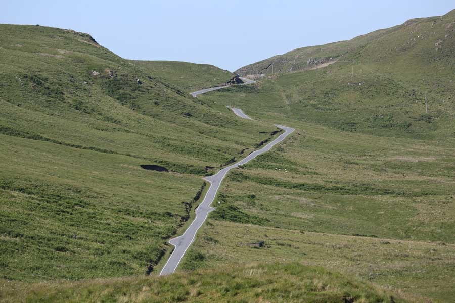 The road to Ardnamurchan...