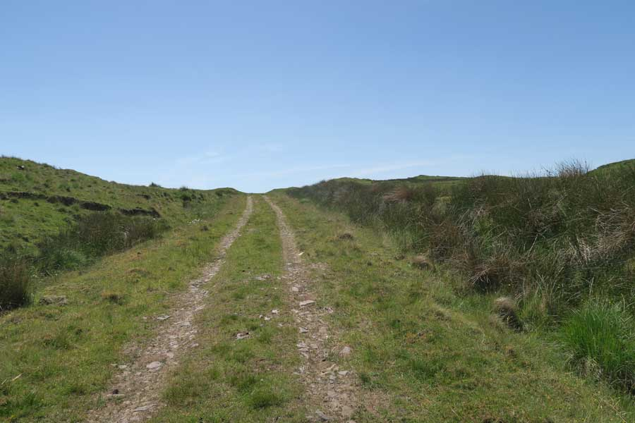 The track to Bourblaige