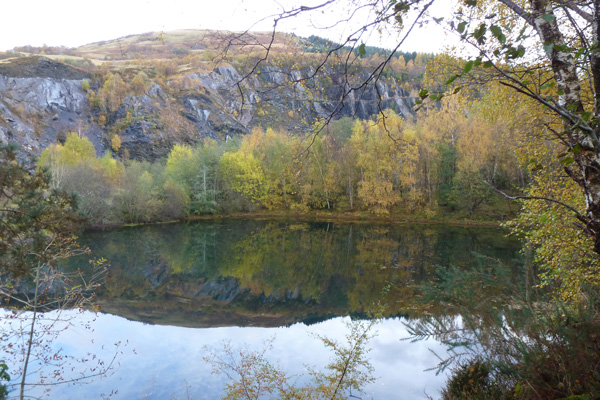 One of the quarry lochans