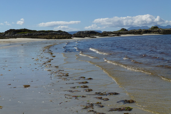 Take time to explore the beach and rockpools