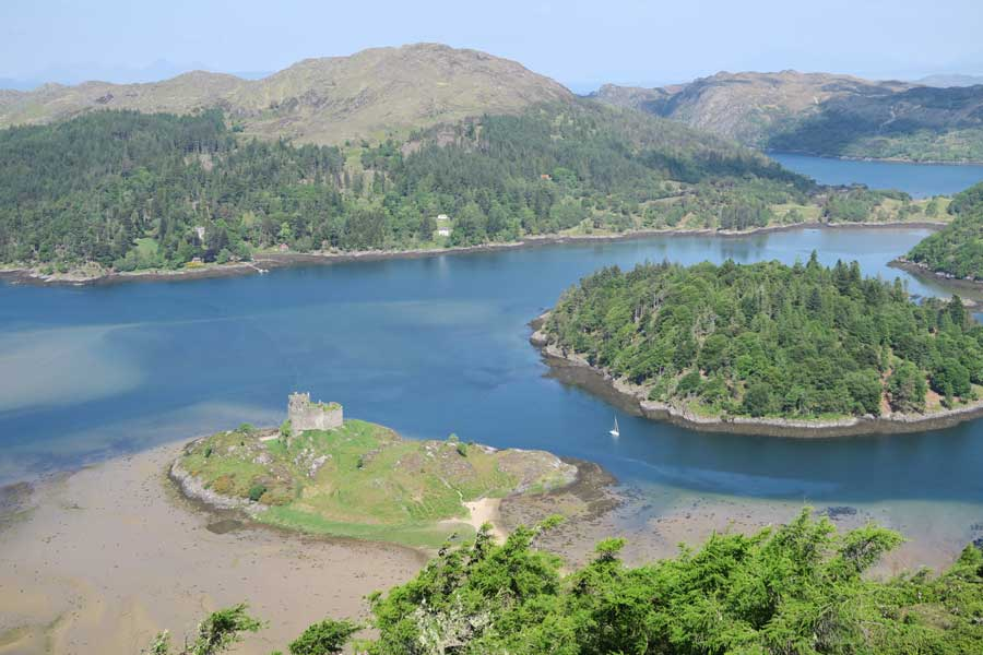Castle Tioram viewpoint