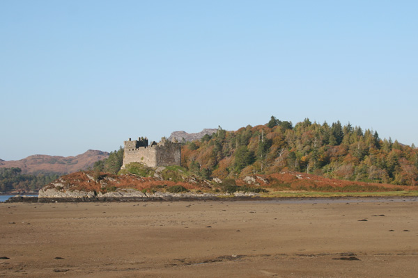Castle Tioram on the tidal island of Eilean Tioram
