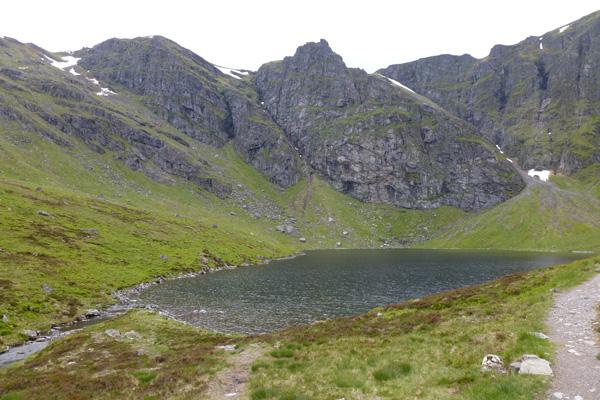 Coire Ardair- lochan a Choire
