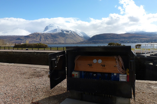 Mechanised loch operation for Corpach Double Loch