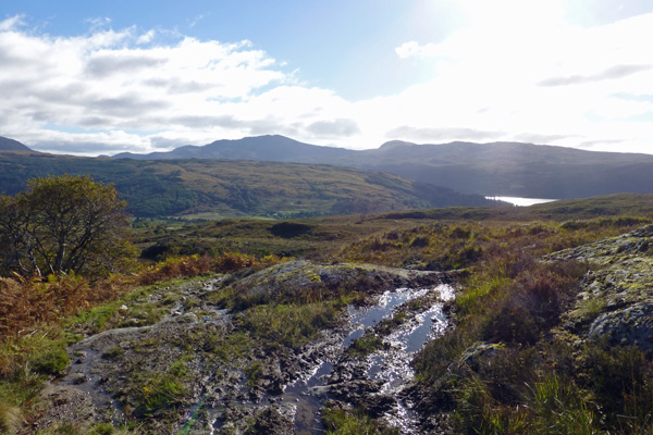 Great views back towards Loch Sunart