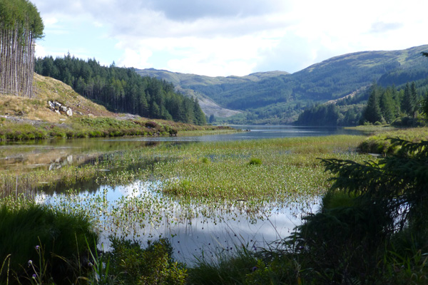 Loch Doilet near the start of the Corrantee lead mine walk
