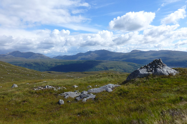 Take time to enjoy the fabolous views over Loch Sunart and beyond