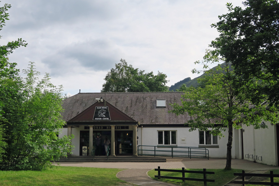 Take time to visit The Glen Nevis Visitor Centre