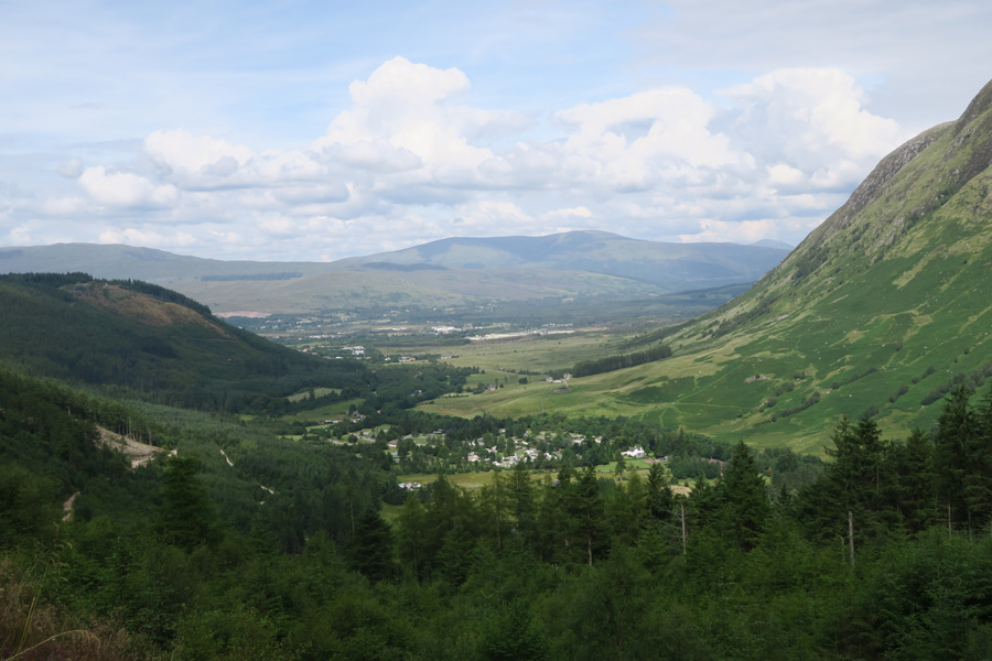 Some fine view of Glen Nevis