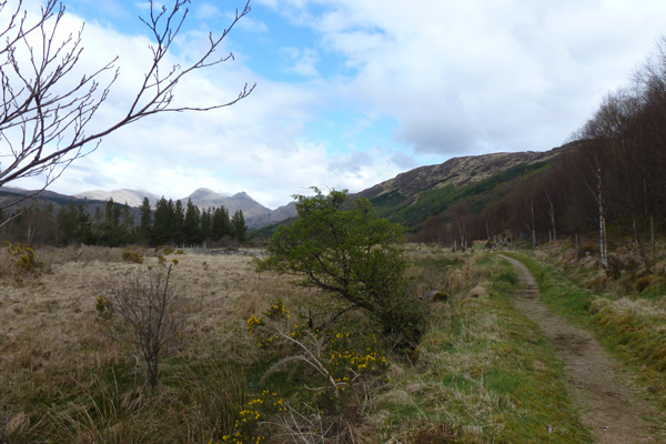 Views over the hills of Ardgour